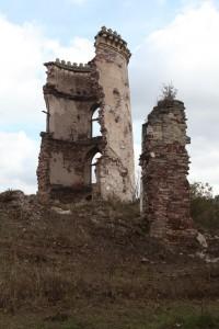 Chervonograd castle