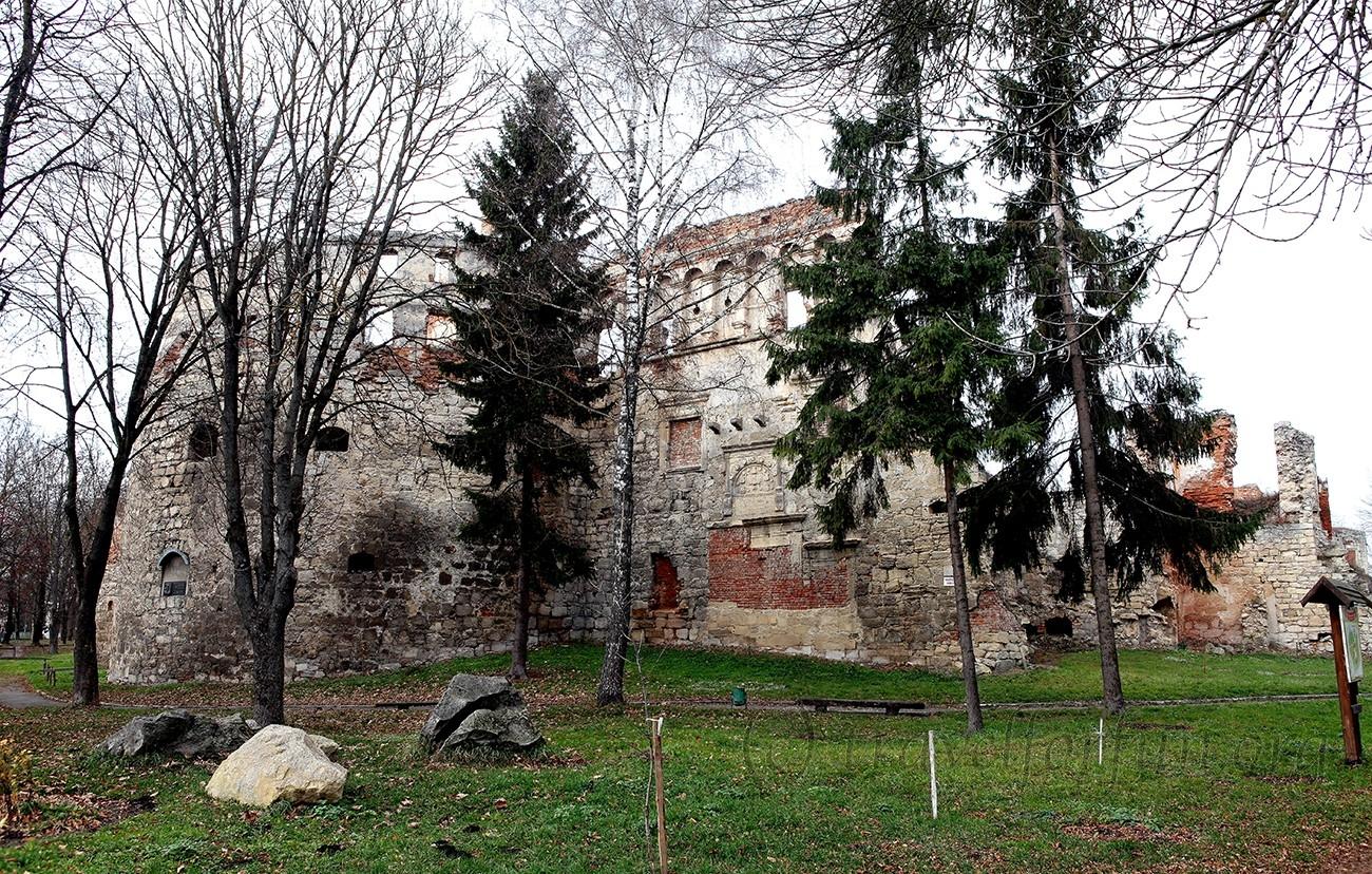 Berezhani castle