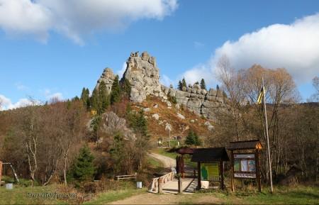 Tustan fortress