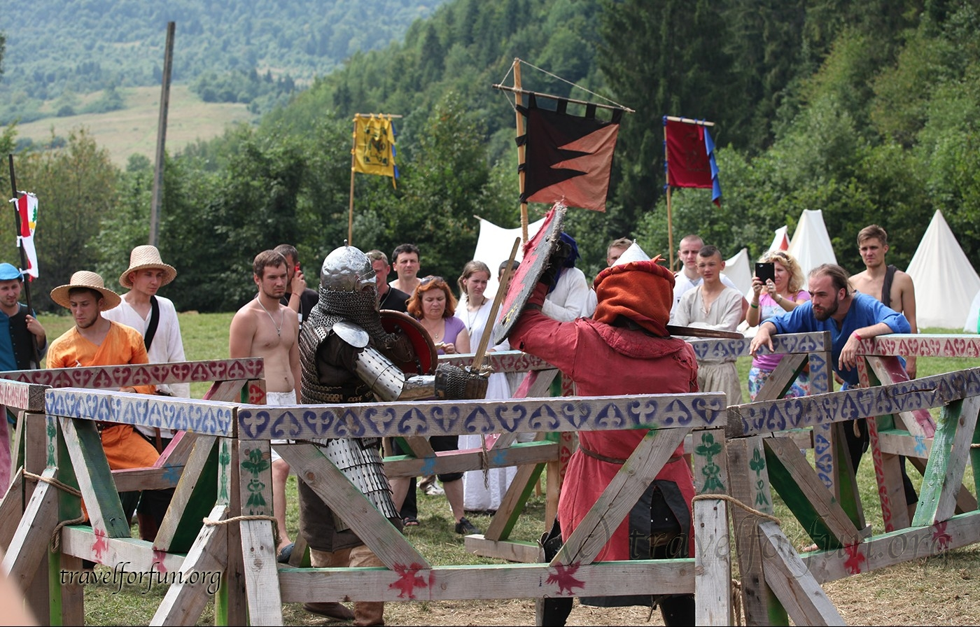 "Festival of medieval culture ""Tu Stan 2015"""