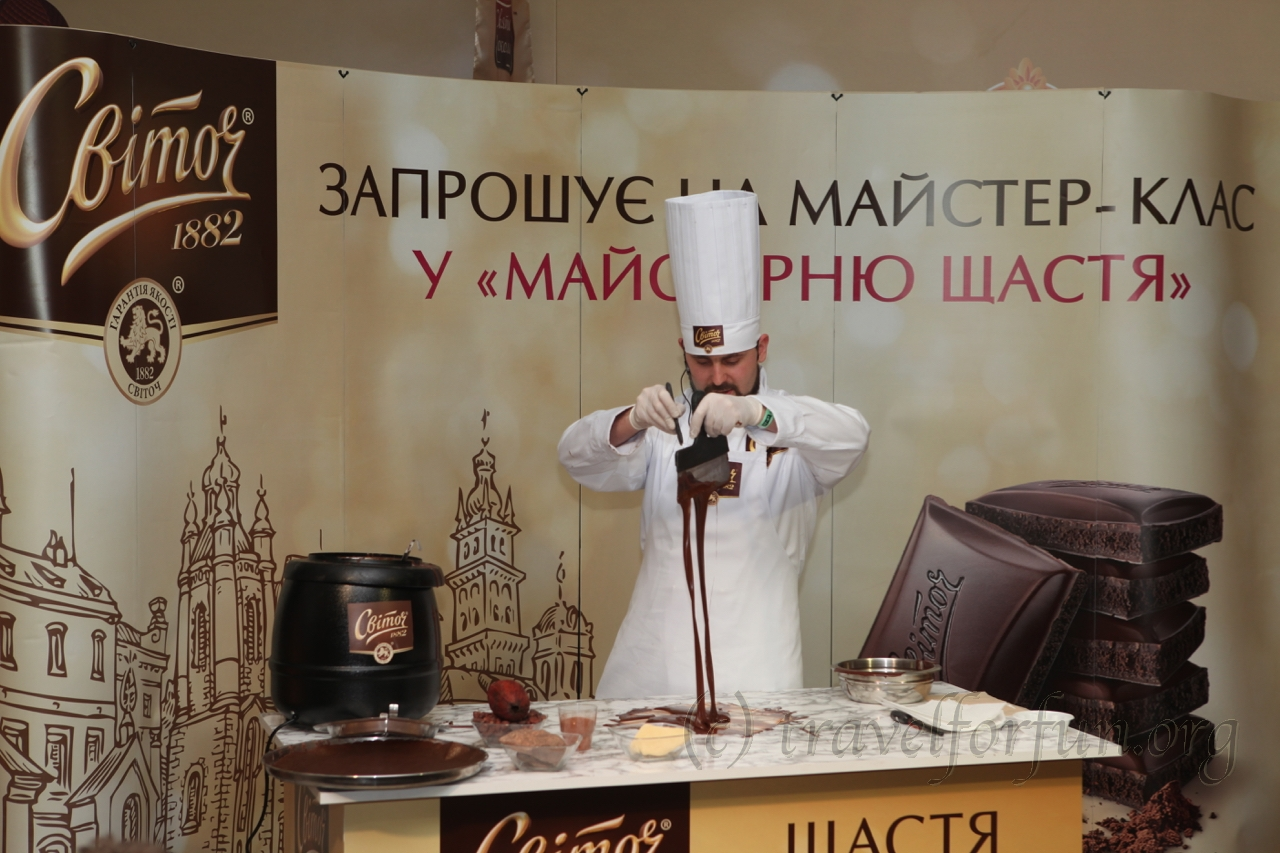 Chocolate Festival in Lviv