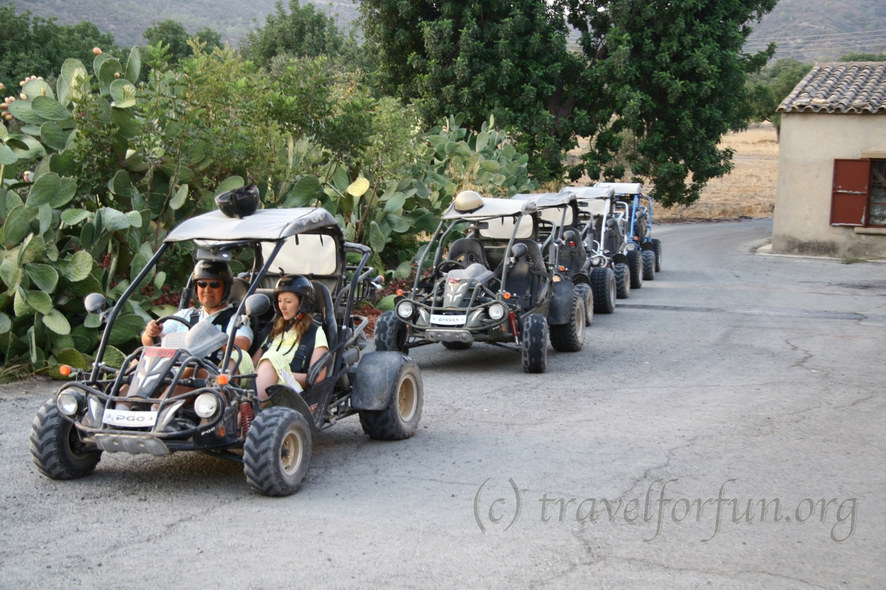 Buggy safari on Cyprus