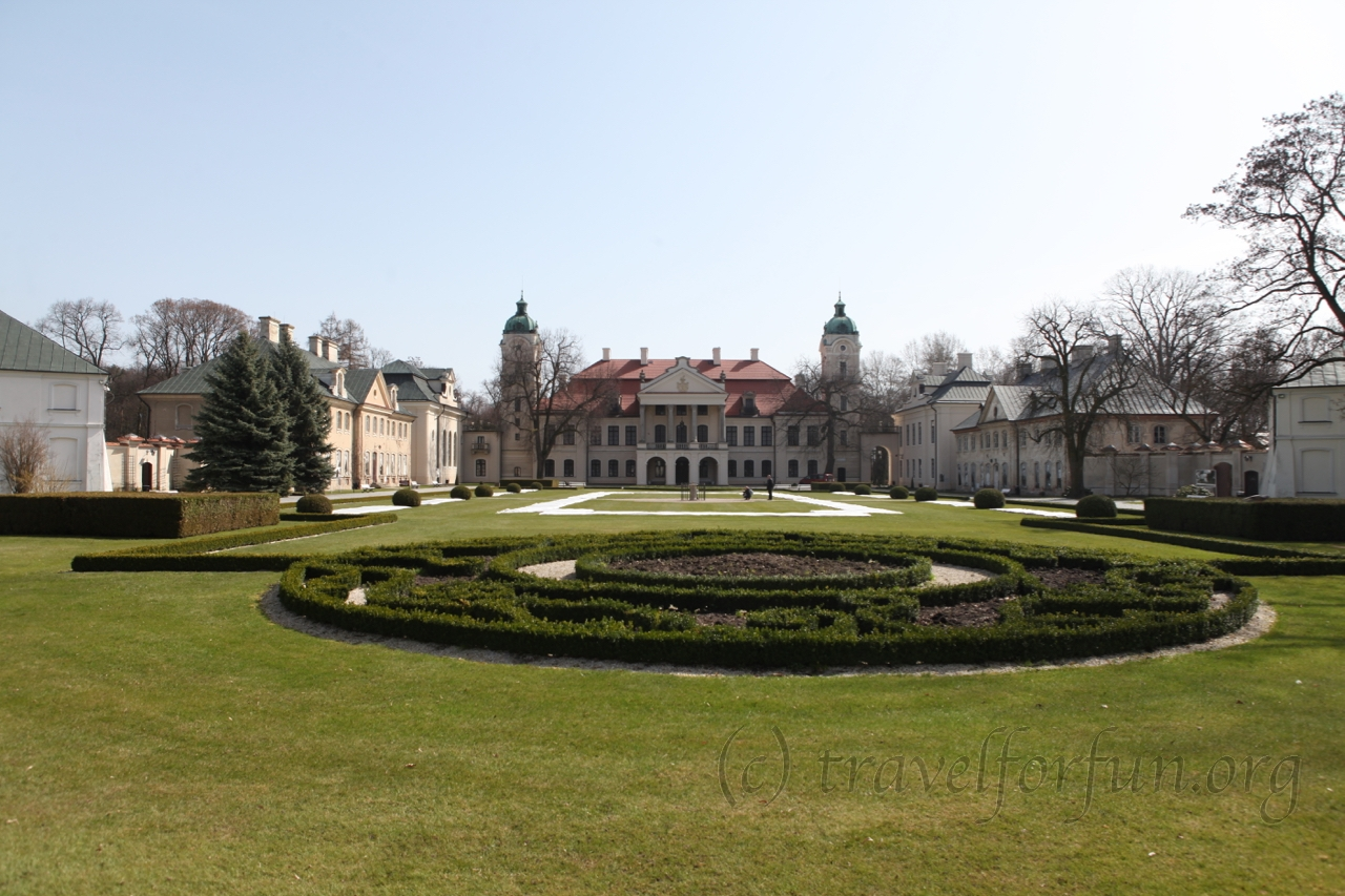Zamoyski palace in Kozlovka, Poland