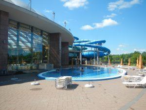 Aquapark in Budapest