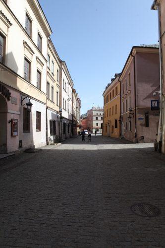 Улицы старого города в Люблине