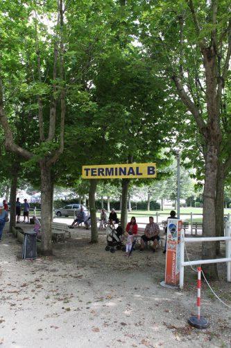 Место посадки на катер до Венеции