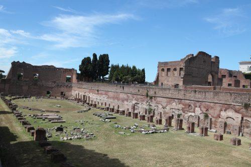 Стадион Домициана и дворец Августов