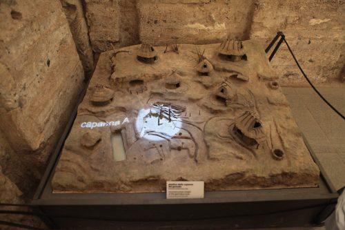 Модель древнего поселения
