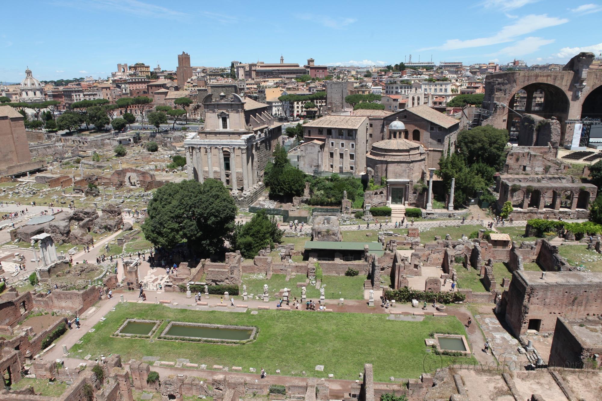 Палатинский холм и Римский форум