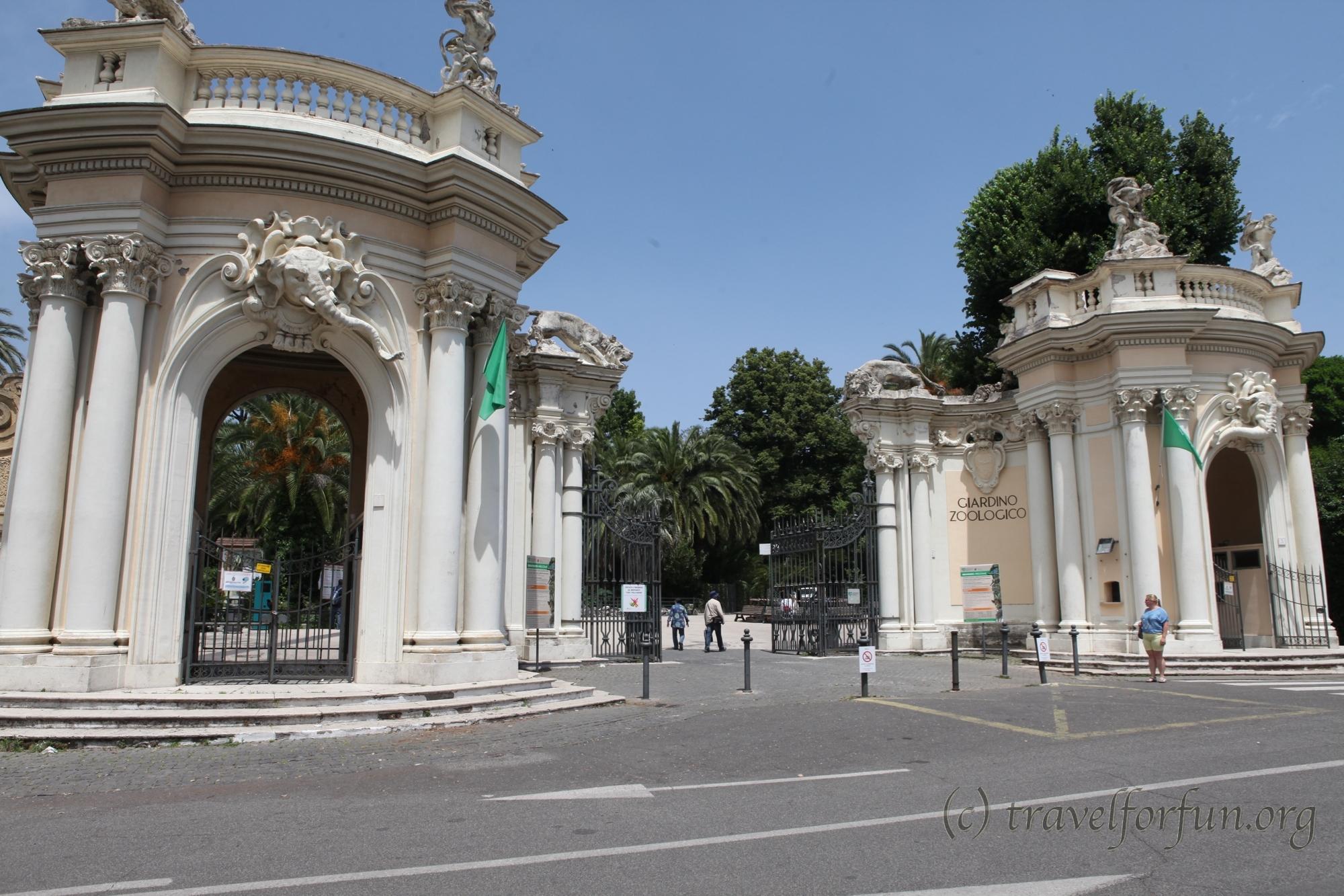 Вилла Боргезе и зоопарк в Риме