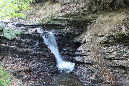 Лумшорский водопад Переступень