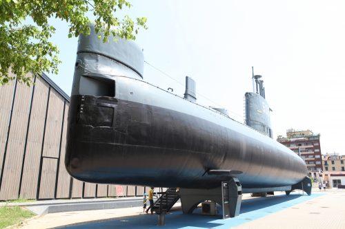 Подводная лодка в музее