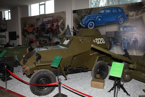 Бронеавтомобиль БА-64Б