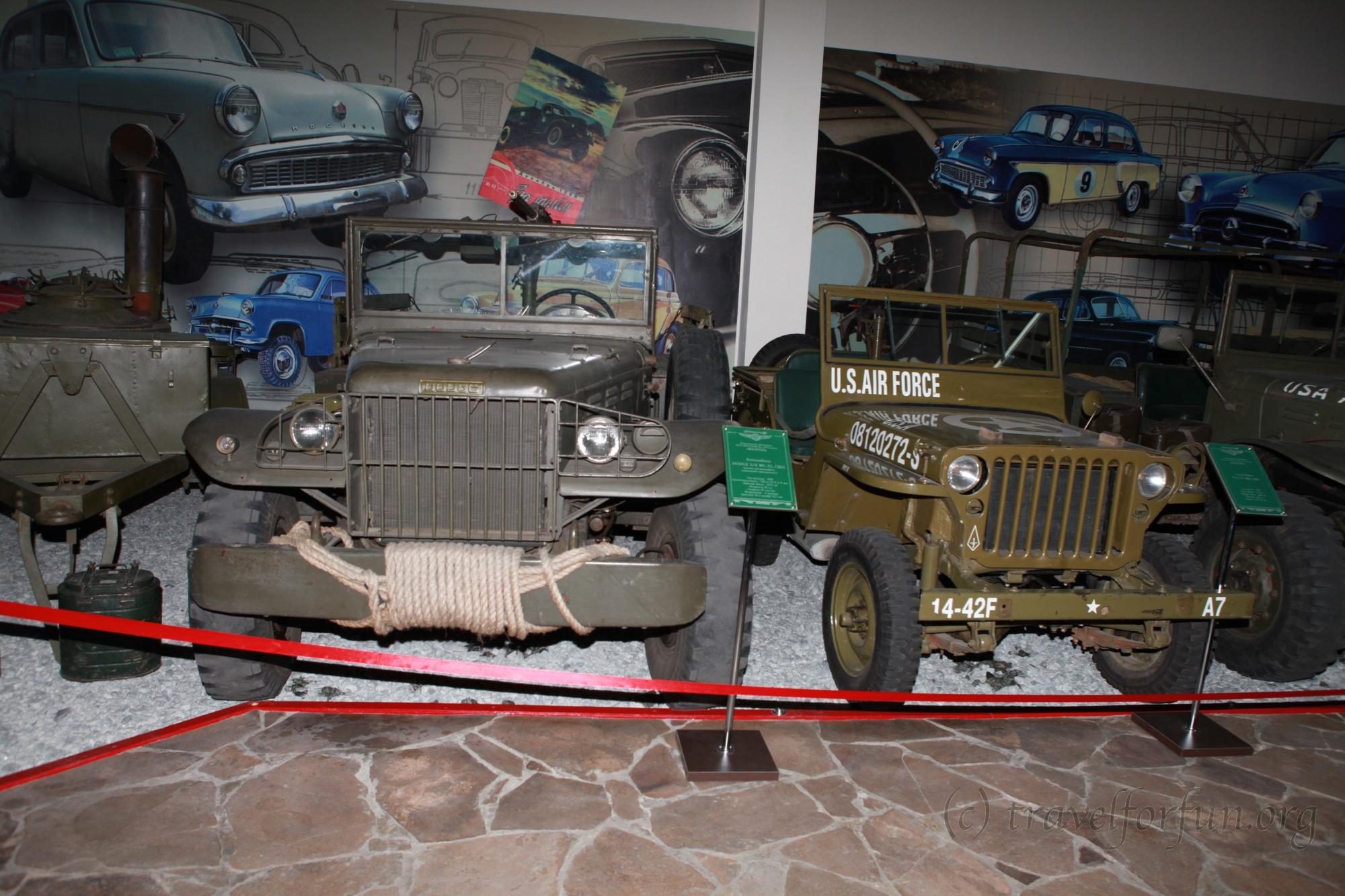 Музей ретро автомобилей в Запорожье