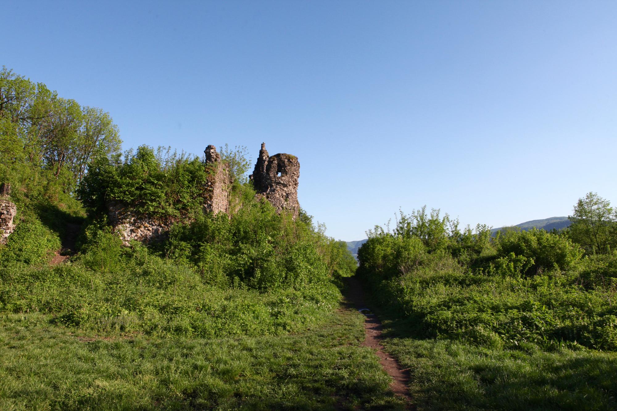 Хустский замок или замок Дракулы