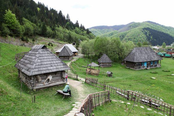 Старое село в Колочаве