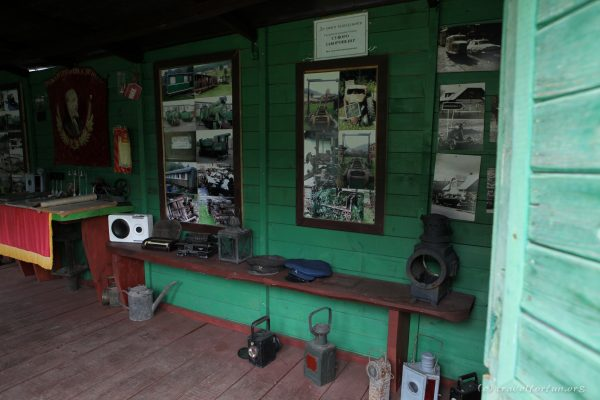 Музей железной дороги в Колочаве