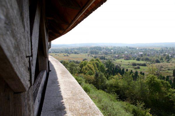Вид с башни замка