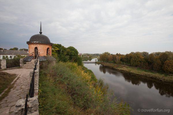 Южный бастион дубенского замка