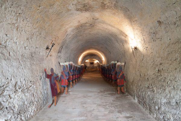 Подземелье дубенского замка