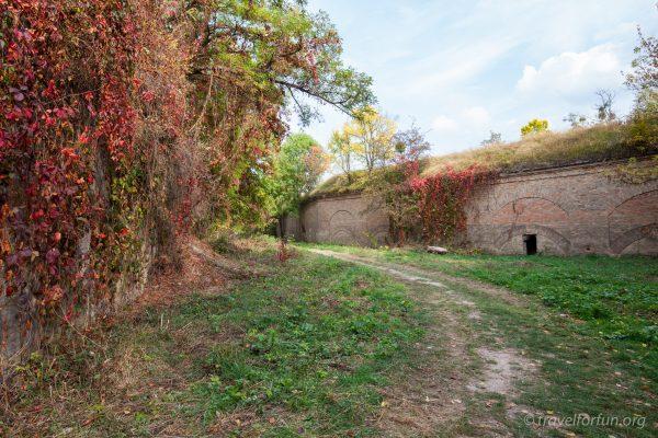 Таракановский форт в Дубно