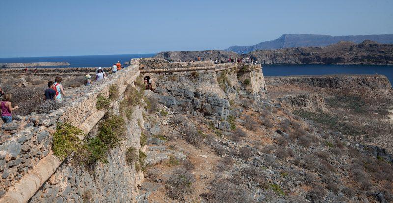 Крепостная стена на острове Грамвуса