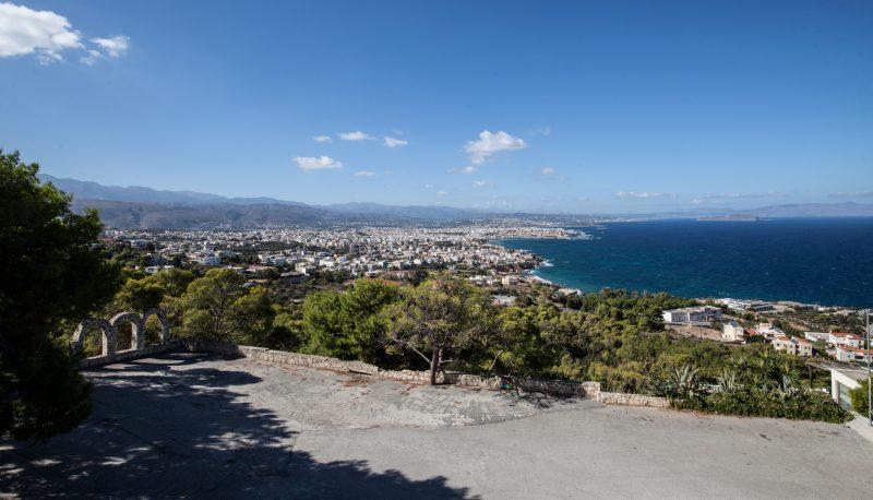 Крит вид на город Ханья