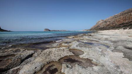 Пляж и бухта Балос Balos lagoon