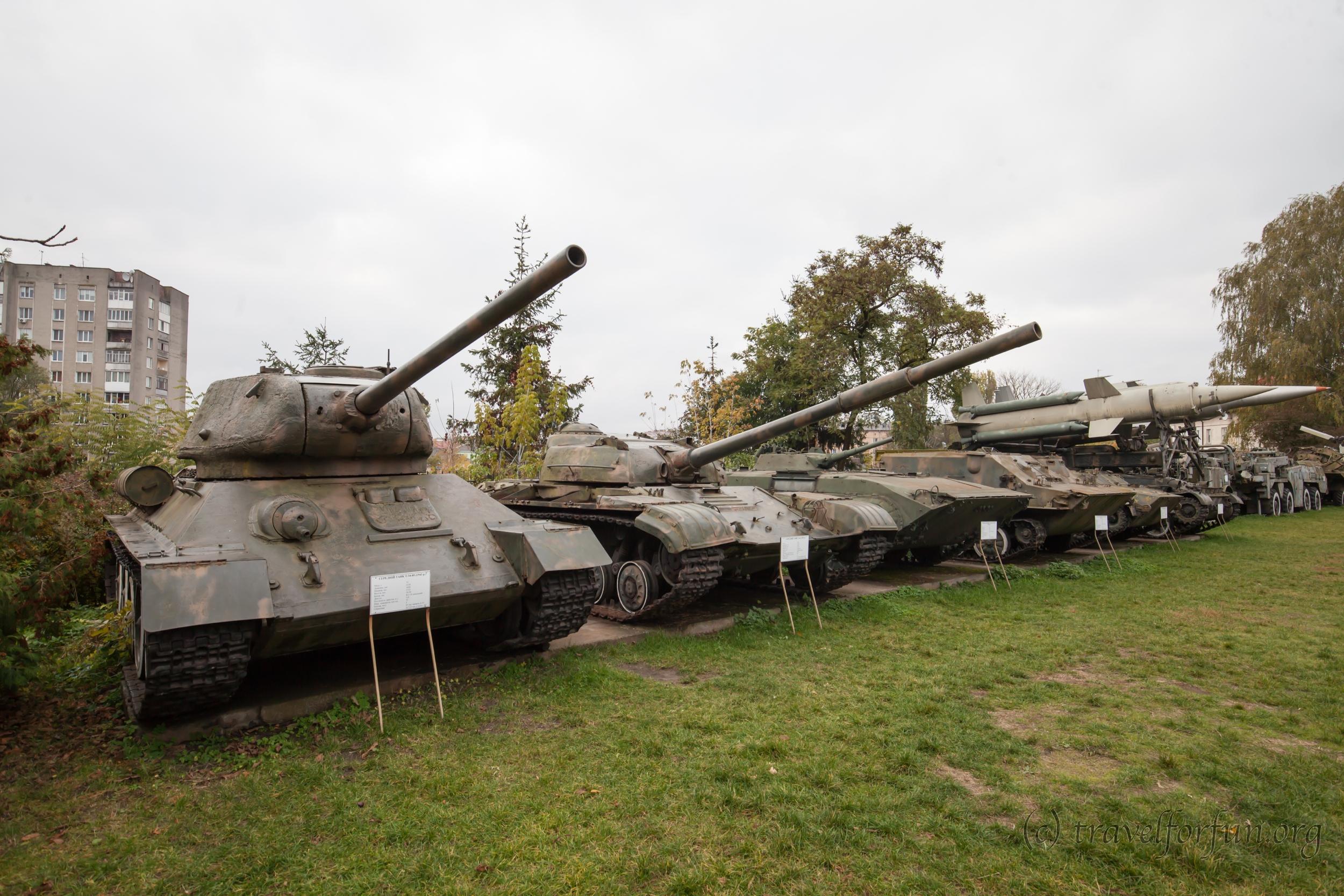 Волинський регіональний музей українського війська та військової техніки в Луцьку