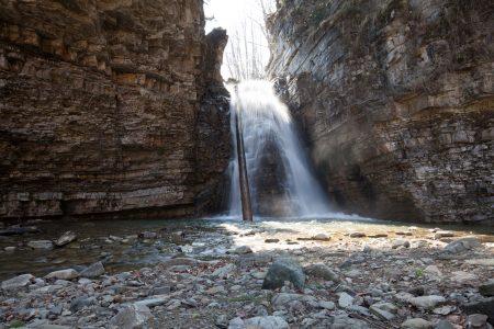 Бухтивецкий водопад