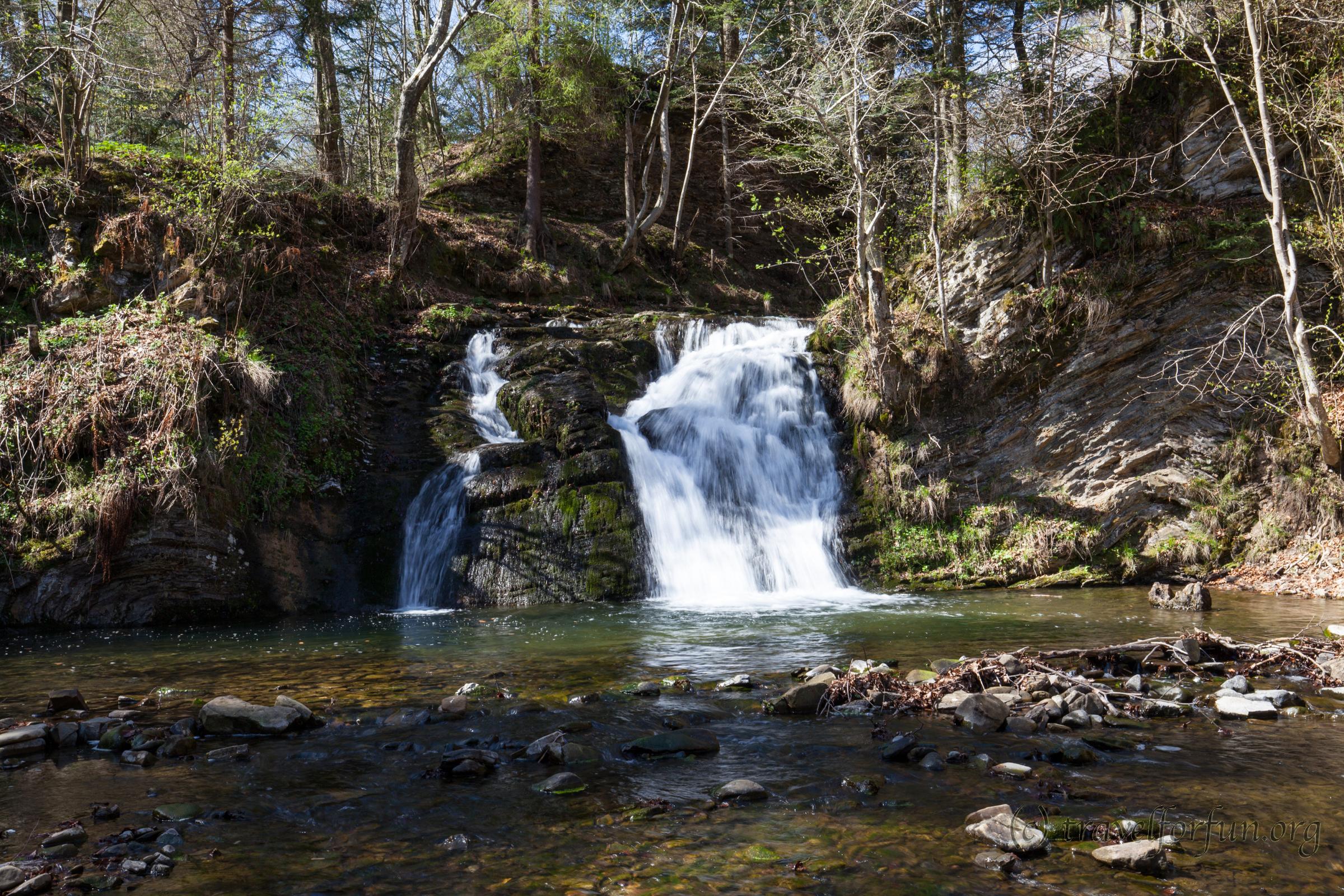 Найкрасивіші водоспади Карпат