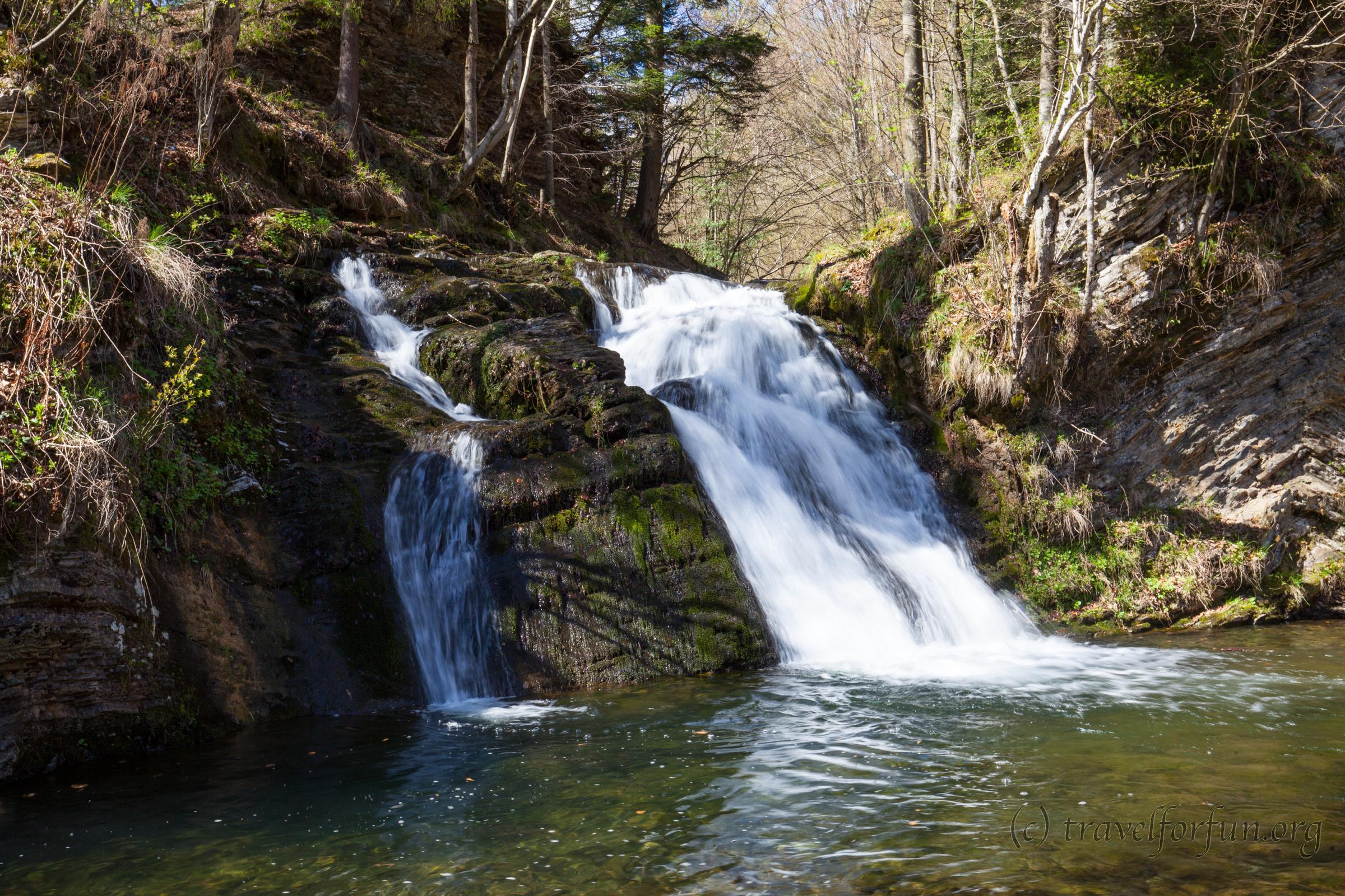 Водопад Гуркало возле г. Сколе
