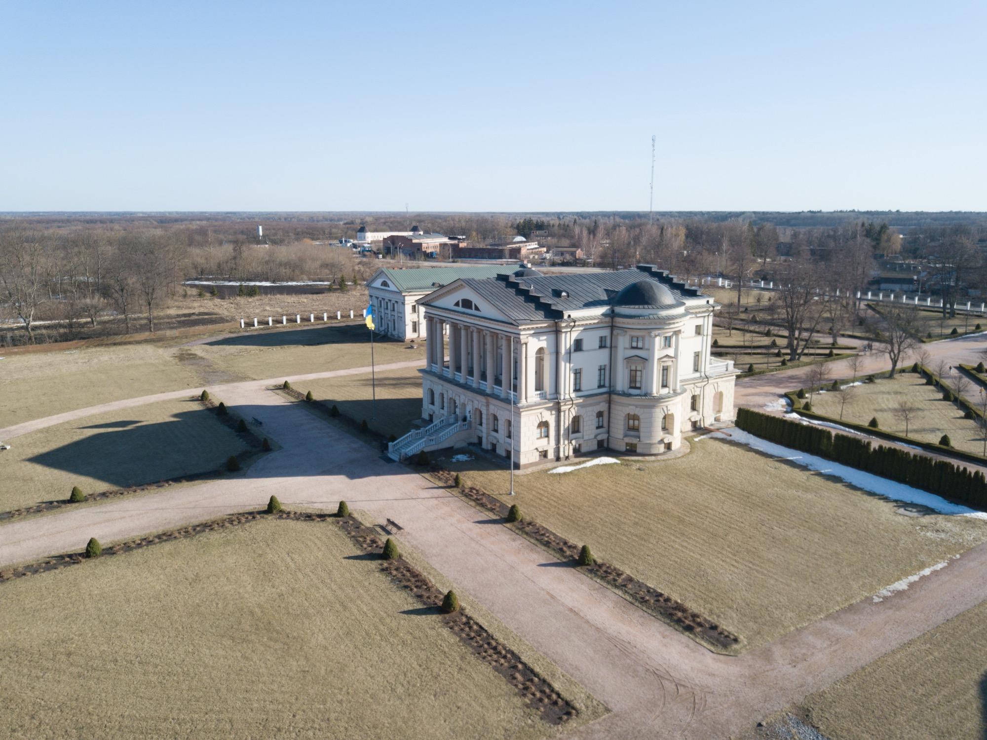 Дворец Разумовского гетманская столица