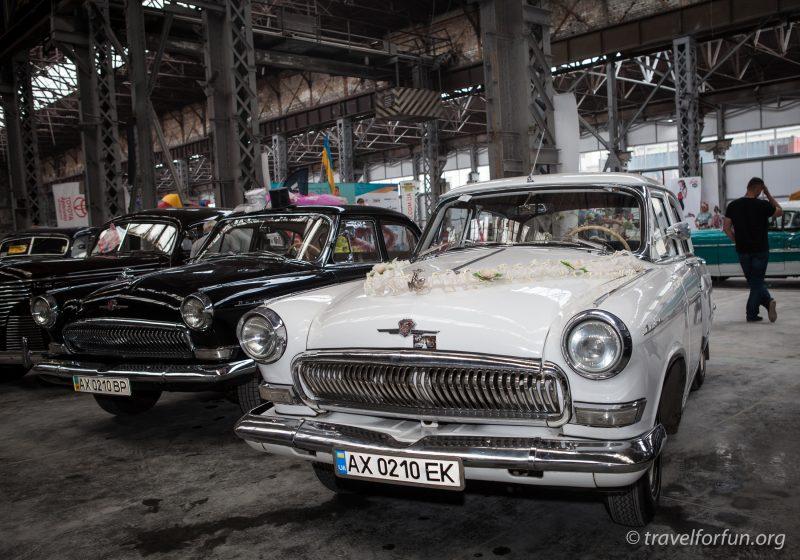 Харьковский ретро слет ГАЗ 24