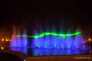 Салоу. Танцующий фонтан