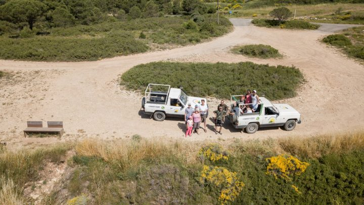 Джип сафари по горам Испании с компанией Jeep Adventure. Деревня Сиурана.