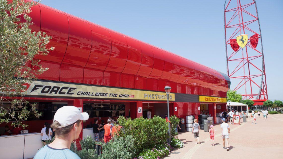 Ferrari Land в парку Port Aventura