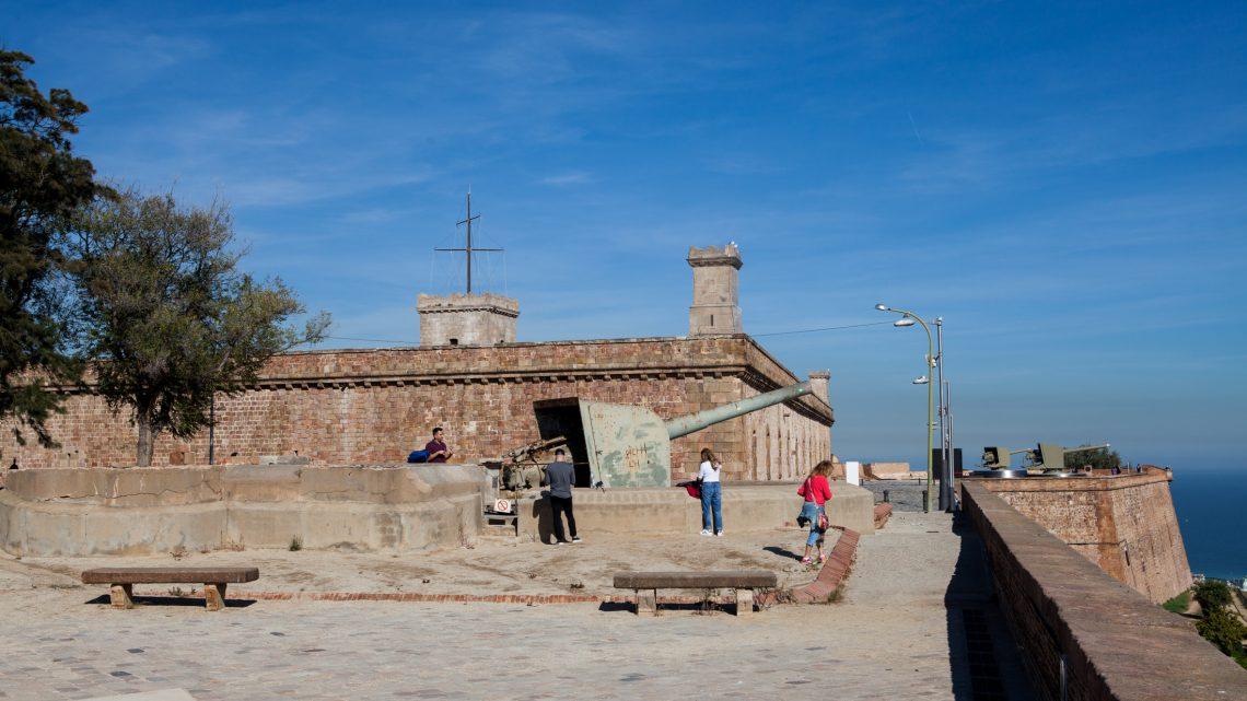 Крепость Монтжуик в Барселоне