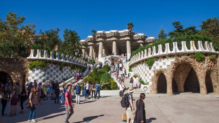Парк Гуель в Барселоні