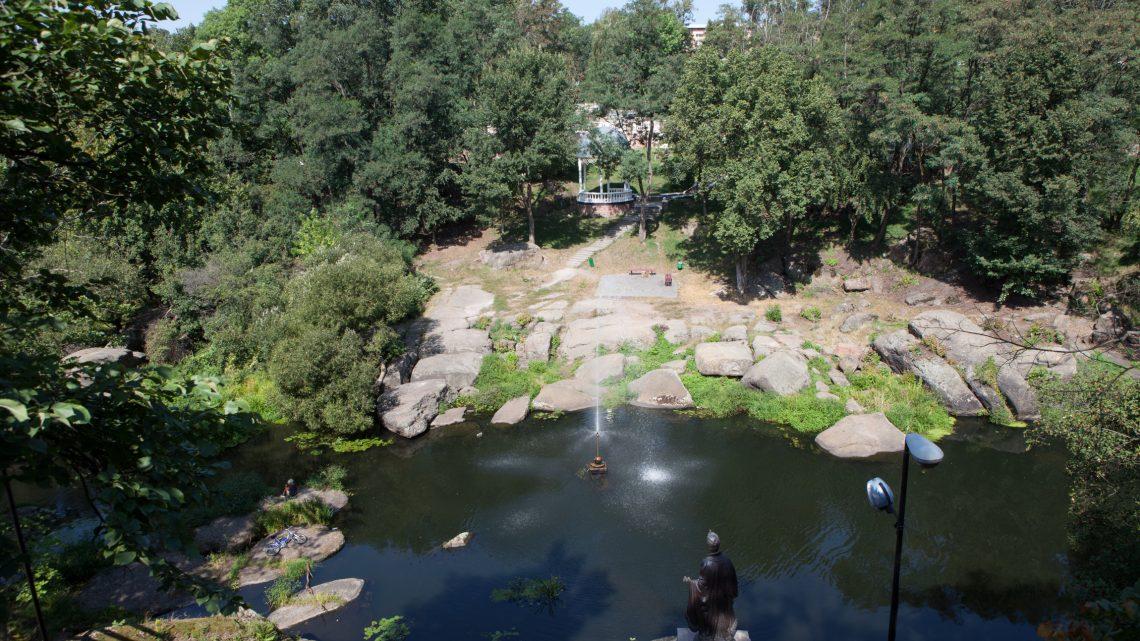 Парк Островского (Древлянский) в Коростене